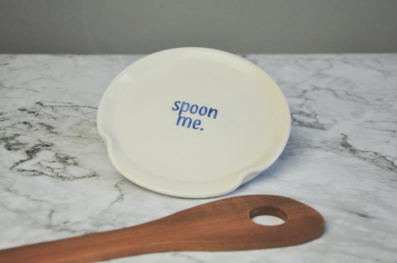 """spoon me"" Spoon Rest"