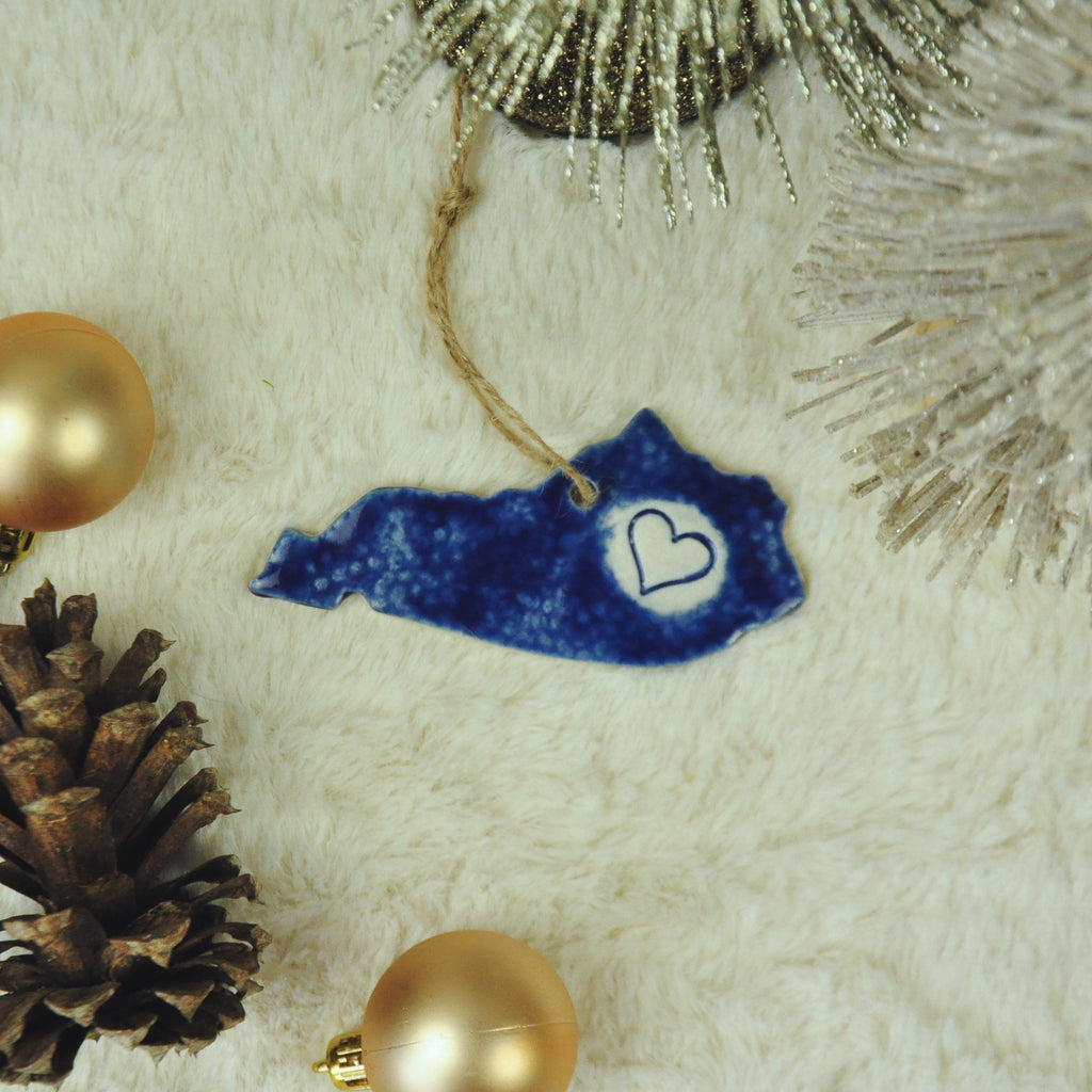 Kentucky Love Ornament