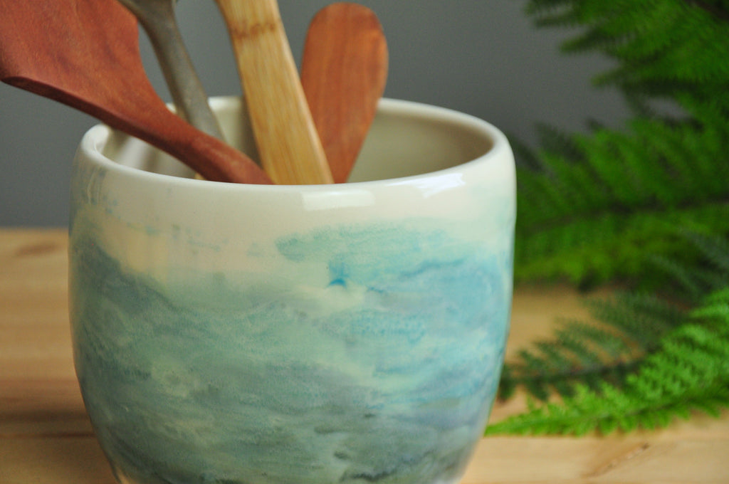 Watercolor Utensil Crock