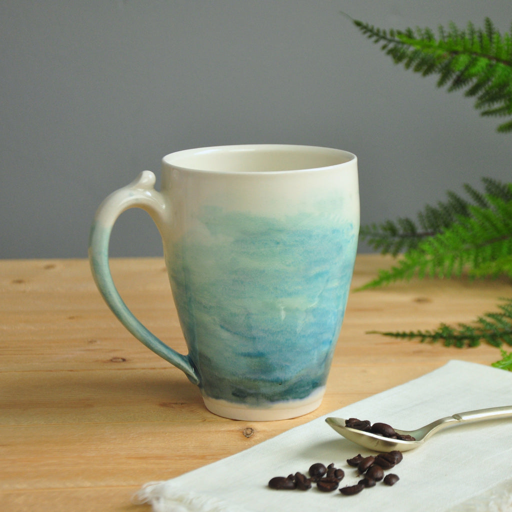 Watercolor Larger Mug