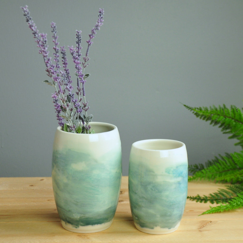 Watercolor Vases - Large & Small