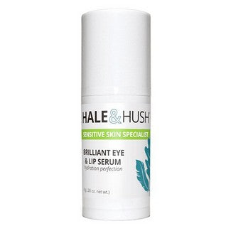 Hale & Hush Brilliant Eye & Lip Serum - .25 oz