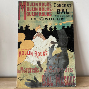 Moulin Rouge metalen poster