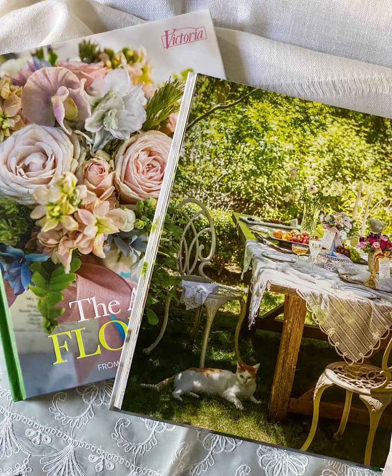 The Art of Flowers Book, from the editors of Victoria
