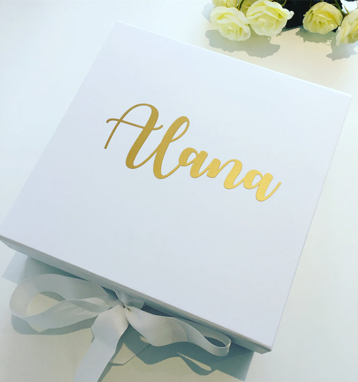 ALANA Set of 3 Medium size Bridesmaid Gift Box
