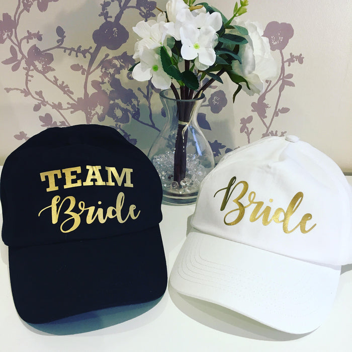 Team Bride Baseball Hat