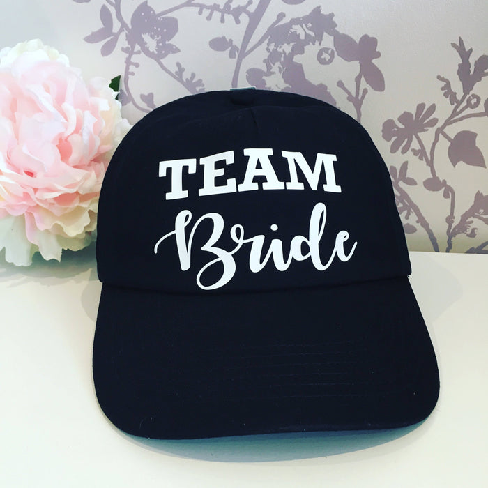 Set of 5 Team Bride hat