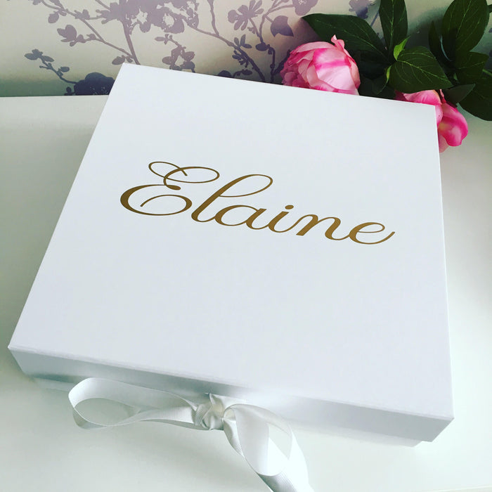 CLAIRE Personalised gift box