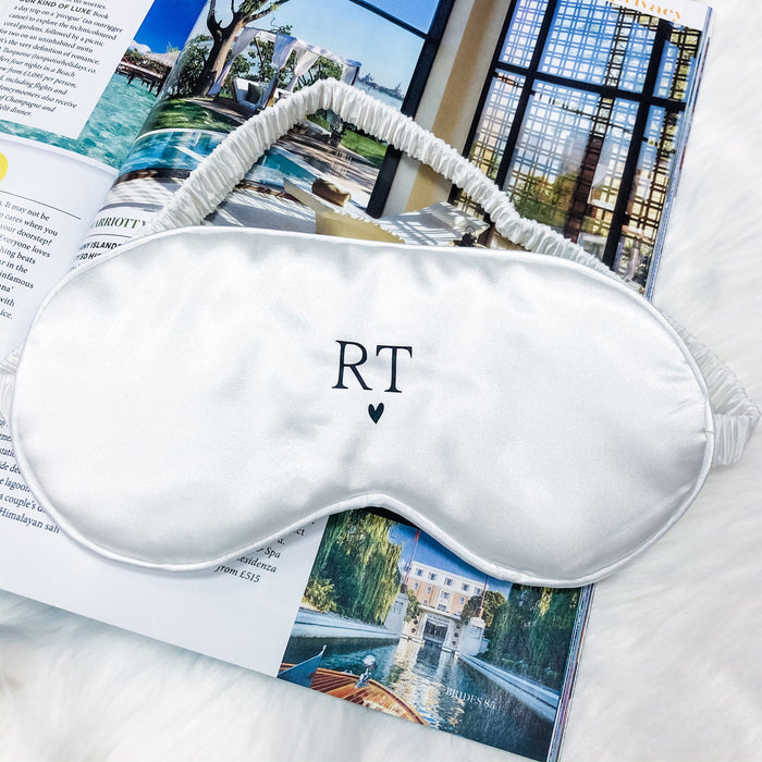 DARCIE Initial sleep eye mask