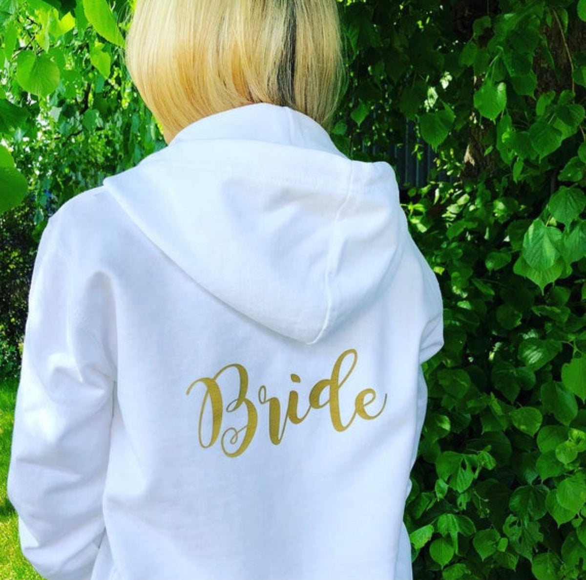 Bride and Bridesmaid Hoodie