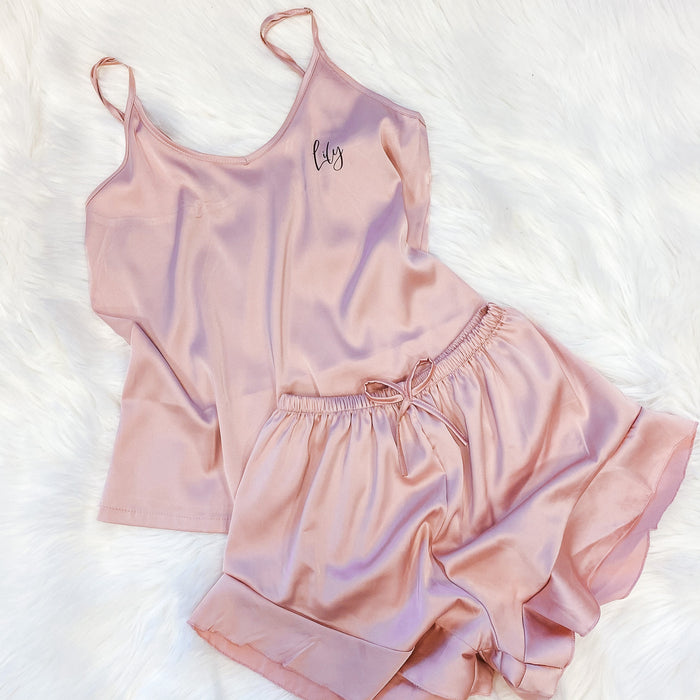satin cami set for KIDS The Bespoke Wedding Gift Company