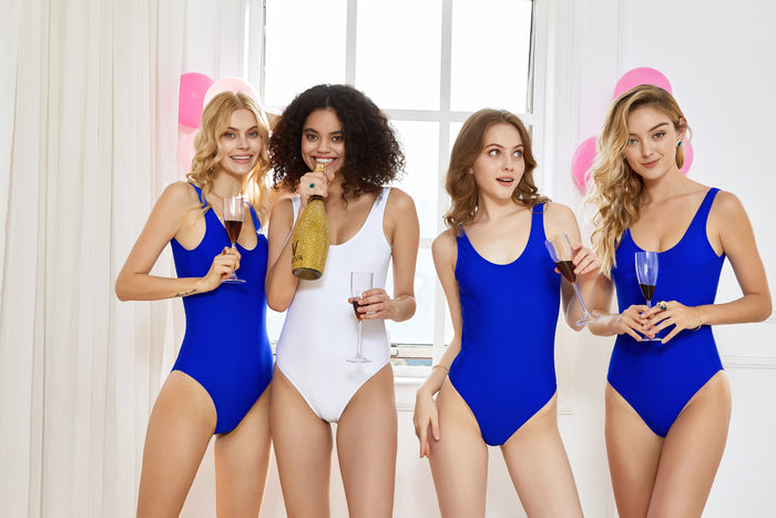 BRIDE SQUAD swimsuit The Bespoke Wedding Gift Company