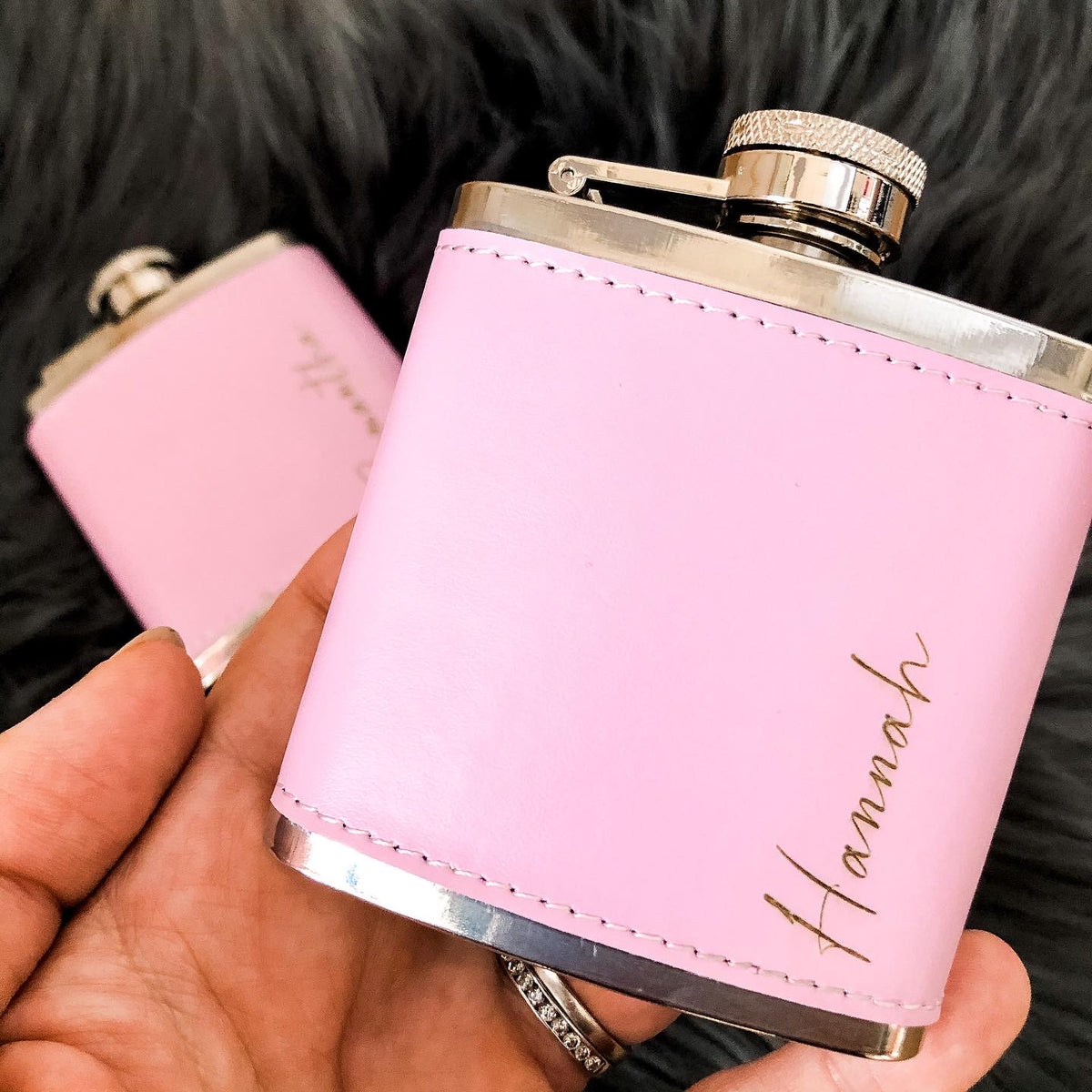 DAKOTA Personalised Ladies' Hip Flask