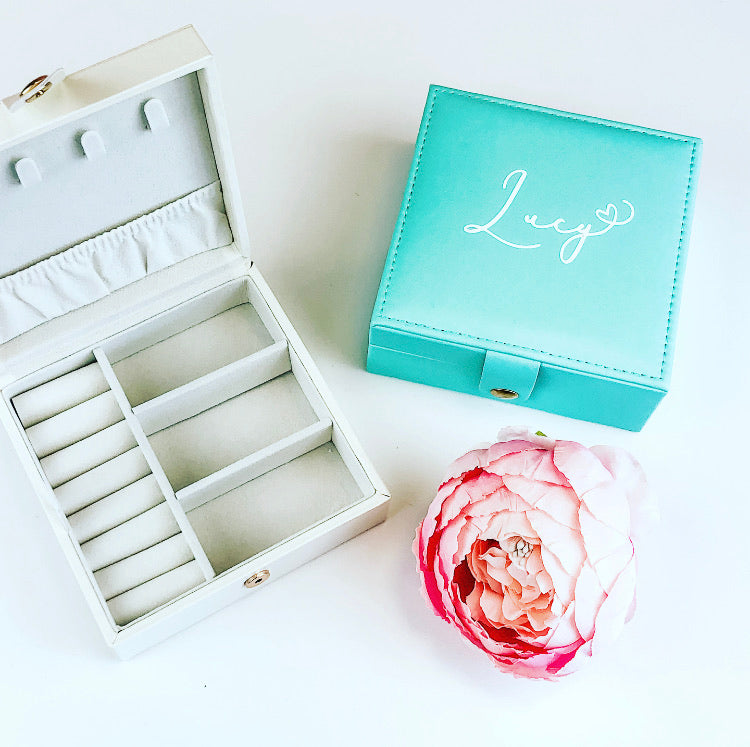 TIFFANY medium size Travel Jewellery Box