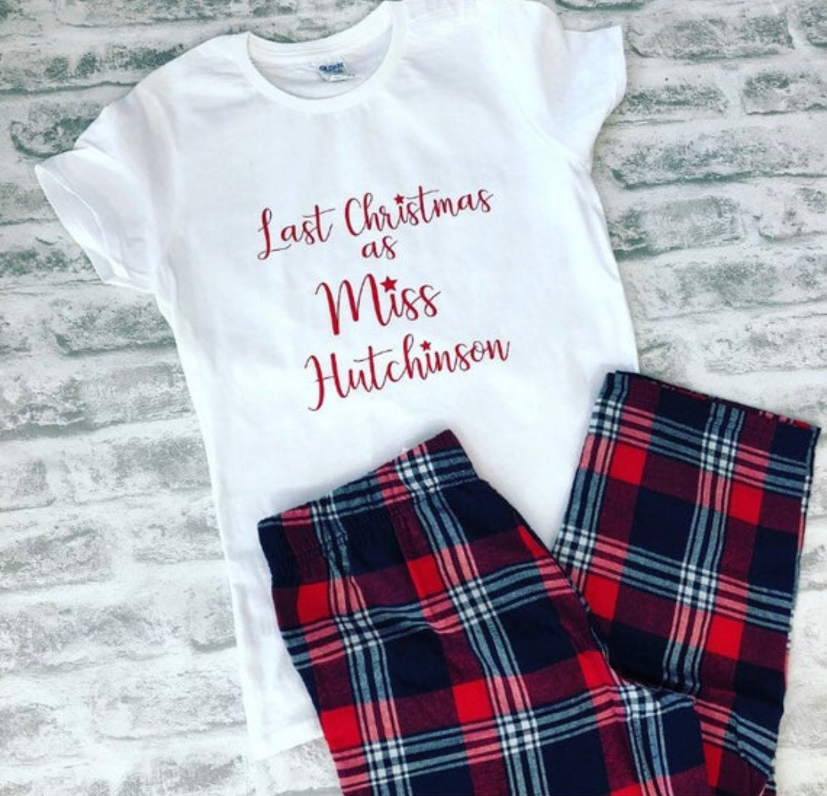 Last Christmas as a Miss pyjamas