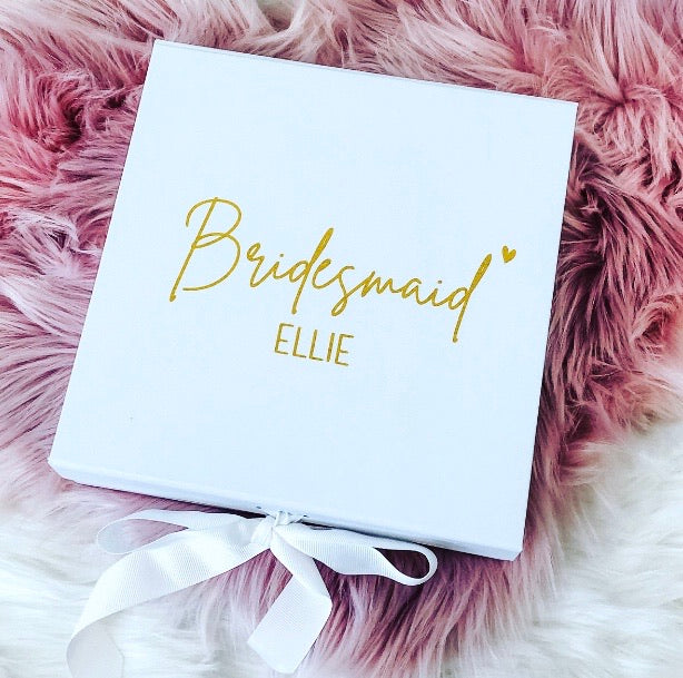 TILLIE Bridesmaid Gift Box