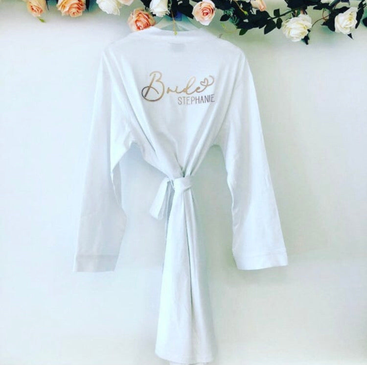 STEPHANIE jersey cotton robe