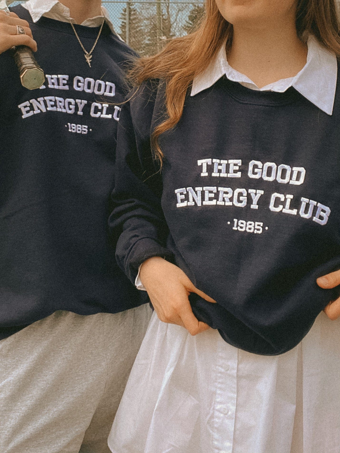 Crewneck Good Energy Club