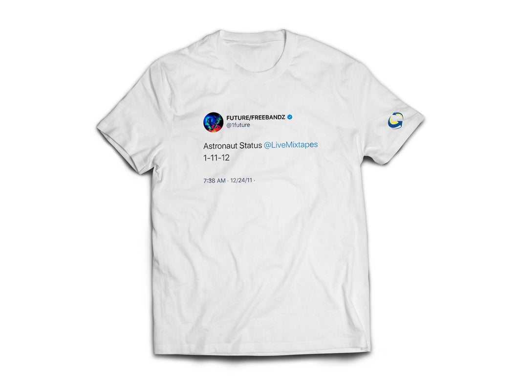 Livemixtapes Throwback Tee (Future Tweet Edition)