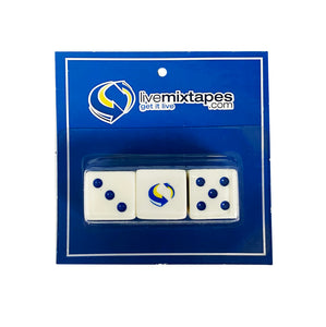 Livemixtapes.com Limited Edition Dice Set
