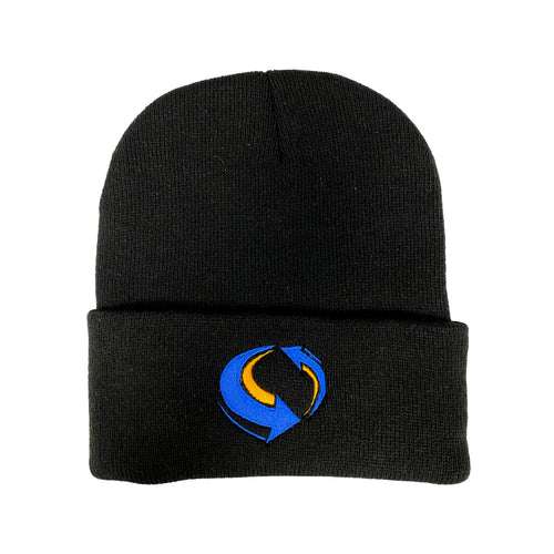 Livemixtapes Beanie (Black/Blue/Yellow)