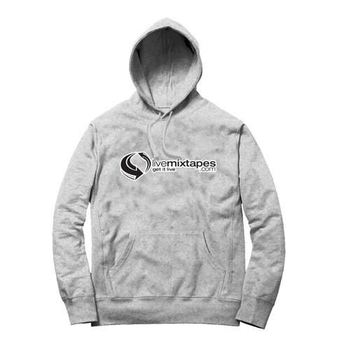 Livemixtapes 2021 Classic Hoodie (Heather Grey/Black/White)