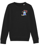 Show Me Your Toes Sweater - Kids - Black