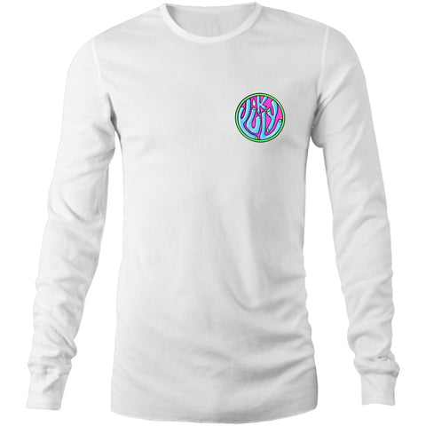 Hanko Long Sleeve Tee - Unisex - White