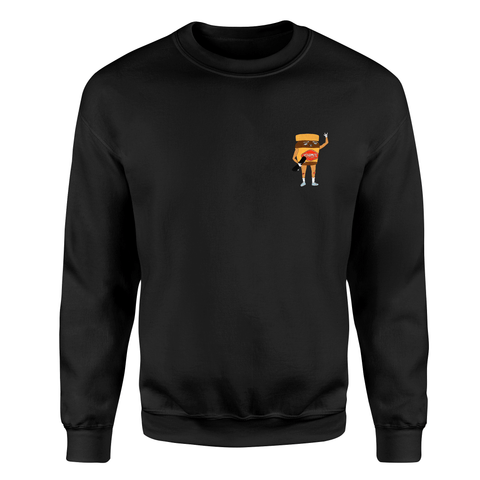 Yeah Mite Sweater - Kids - Black