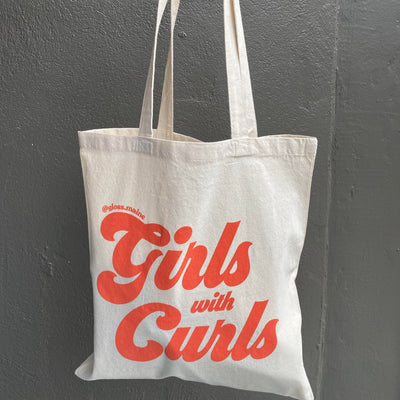Girls With Curls Tote