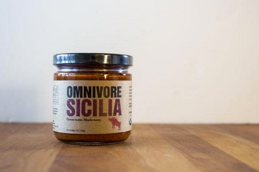 omnivore sicilia is a gourmet, organic, sugar free condiment with balsamic vinegar, ancho pepper