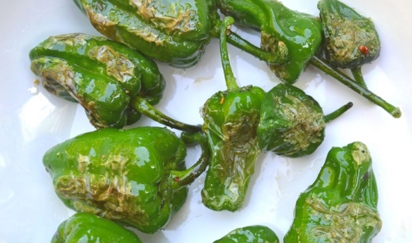Padron Peppers from Farm Fresh to You with Omnivore Salt