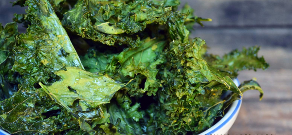 kale chips with Omnivore Ginger and Omnivore Salt by Farm fresh to you