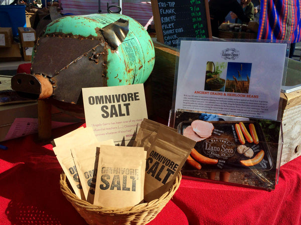 Rancho Llano Seco and Omnivore Salt team up to offer more organic, paleo-friendly seasoning salt for your simple or more difficult recipes.