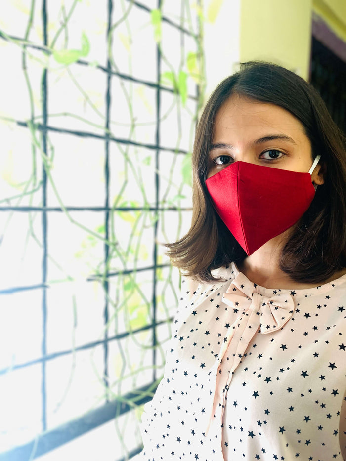 Solid Cotton Masks – Double Layered