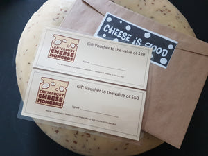 Cheesemonger vouchers