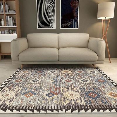 Carpets For Living Room. Persian Bedroom Rug For Home Decor Also Used As Sofa Coffee Table Floor Mat