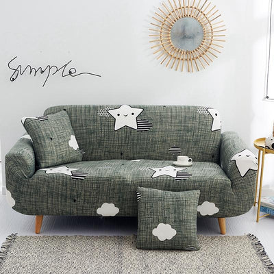 Stretch Sofa Slipcover. Polyester Spandex Fabric Couch Cover. Chair Loveseat Furniture Protector Covers 1/2/3/4/