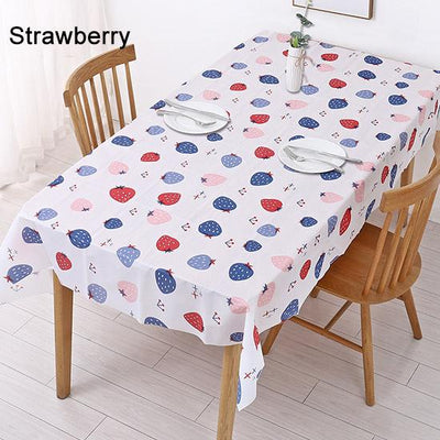 Rectangle Desk Cloth Wipe Covers Waterproof Washable Table Cover