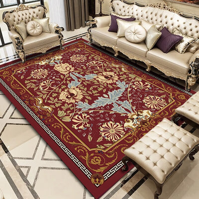 New Persian Style Carpets For Living Room And Bedroom Also Used As Home Decor Carpets For Coffee Table