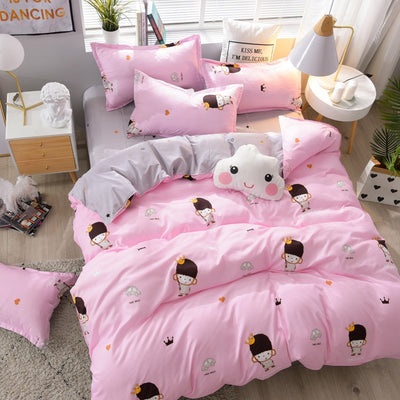 Looxfancy Beautiful & Cute duvet covers | Polyester Cotton Bedding Set For Home