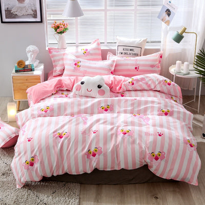 Looxfancy Cute duvet covers | Polyester Cotton Bedding Set For Home