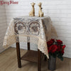 Creative Unique Elegant 85X85Cm Square Modern Tablecover