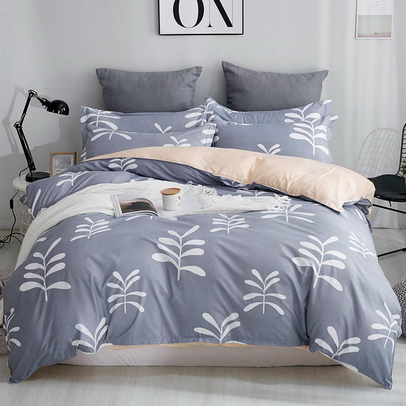 Looxfancy Luxury Bedding Set with Geometric Pattern