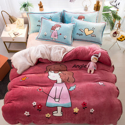 Looxfancy Pretty Duvet Cover Bedding sets for Kids