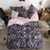 Heart Printed Bedding Set