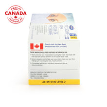 Load image into Gallery viewer, Level 2 Surgical Mask (Canadian Made) (50 per box)