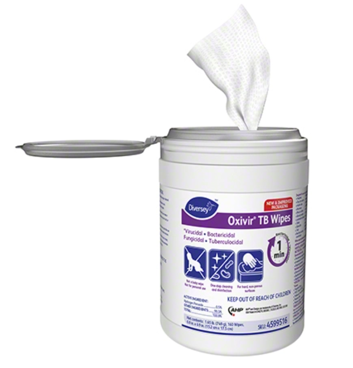 Oxivir TB Wipes (160 Count)