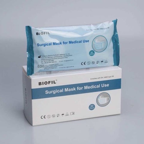 Surgical Level 2 Ear Loop Face Masks (50 Pack)
