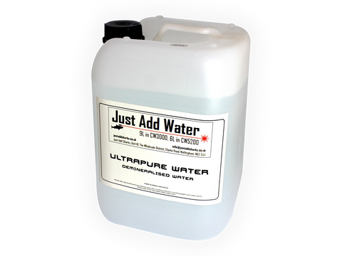 Ultrapure Demineralised Water 10L